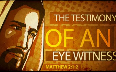 The Testimony of an Eye Witness